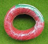 DX012R 100 mtr's 1.0 AMP 26AWG RED STRANDED EQUIPMENT WIRE (1 ROLL) /item# G4W8B-48Q8880