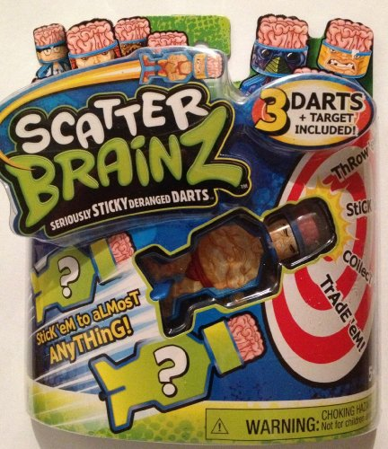 Scatter Brainz 3 Pack of Darts Scary Oche & 2 Mystery Character Darts - 1
