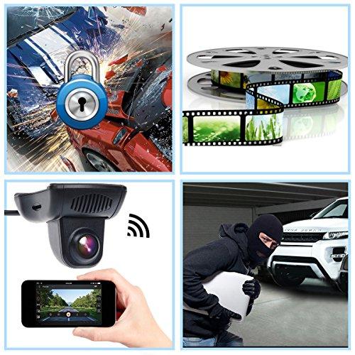 Toguard dash cam wifi full hd nascosta mini dvr per auto for Ampio garage per auto
