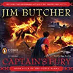 Captain's Fury: Codex Alera, Book 4 (       UNABRIDGED) by Jim Butcher Narrated by Kate Reading