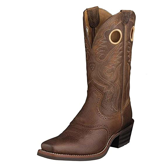 Men's Authentic Ariat Heritage Roughstock Boot For Sale More Colors Available