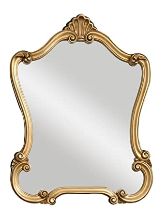 Uttermost Walton Hall Gold Mirror, U-Shaped