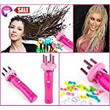 Viproo® Braid X-press Electric Hair Braider Automatically Hair Braiding Machine Hemp Twist Flowers Hair Styling Kit