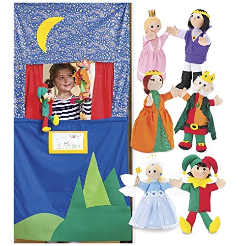 Royal-Family-Hand-Puppets-and-Doorway-Puppet-Theater-Special