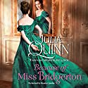 Because of Miss Bridgerton: The Bridgerton Series Hörbuch von Julia Quinn Gesprochen von: Rosalyn Landor