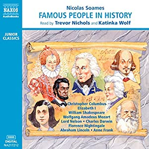 Famous People in History Audiobook