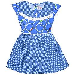 Rush Me Baby Girls' Dress (S.R.2014_6 Years, 6 Years, Royal Blue)