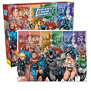 Justice League of America Jigsaw Puzzle, 1000-Piece
