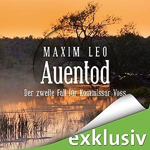 Auentod (Kommissar Voss 2) Hörbuch