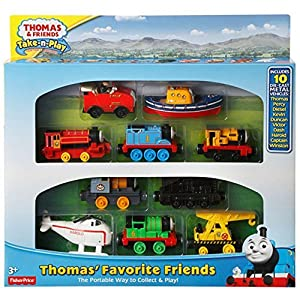 Thomas & Friends Take 'n' Play Favourite Friends 10 Die-cast Metal Vehicle Gift Set