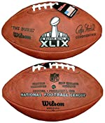 Wilson F1007-49 Official Super Bowl XLIX Game Football - Seattle Seahawks vs. New England Patriots