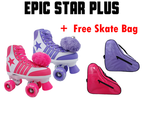 Epic Star Plus Kids Quad Roller Skates