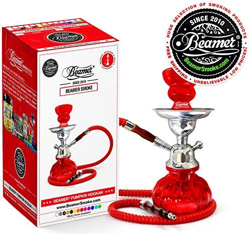 U-Pick-Color-Red-Beamer-Pumpkin-Hookah-Set-Limited-Edition-Beamer-Sticker