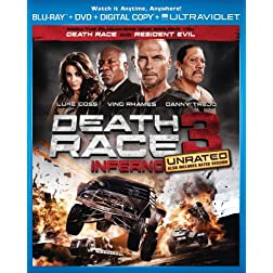 Death Race 3: Inferno (Two-Disc Combo Pack: Blu-ray + DVD + Digital Copy + UltraViolet)