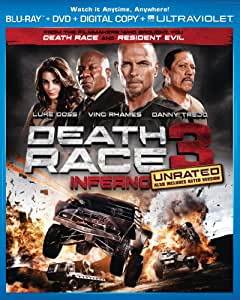 Death Race 3: Inferno (Unrated Blu-ray + DVD + Digital Copy + UltraViolet)