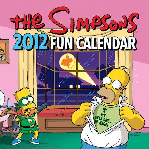 The Simpsons 2012 Fun Calendar PDF