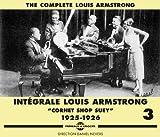 echange, troc Louis Armstrong - Intégrale /Vol.3 : Cornet Chop Suey (1925-1926)