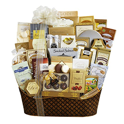 Dreaming Of A White Christmas Ultimate Gourmet Basket By California Delicious
