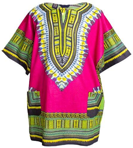 ragstock-traditional-african-print-unisex-dashiki-fuchsia