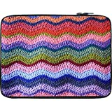 Snoogg Woollen Sewed Pattern 12 To 12.6 Inch Laptop Netbook Notebook Slipcase Sleeve