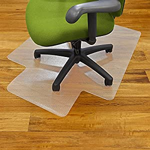 clear vinyl office chair mat