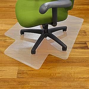 Clear Vinyl Office Chair Mat