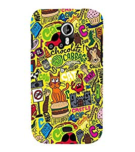 Fuuny Cat 3D Hard Polycarbonate Designer Back Case Cover for Micromax Canvas HD A116 :: Micromax Canvas HD Plus A116Q