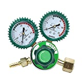 Careesoffe Oxygen Gas Pressure Regulator Gauge G5/8 Pressure Reducing Valve Mig Tig Welding
