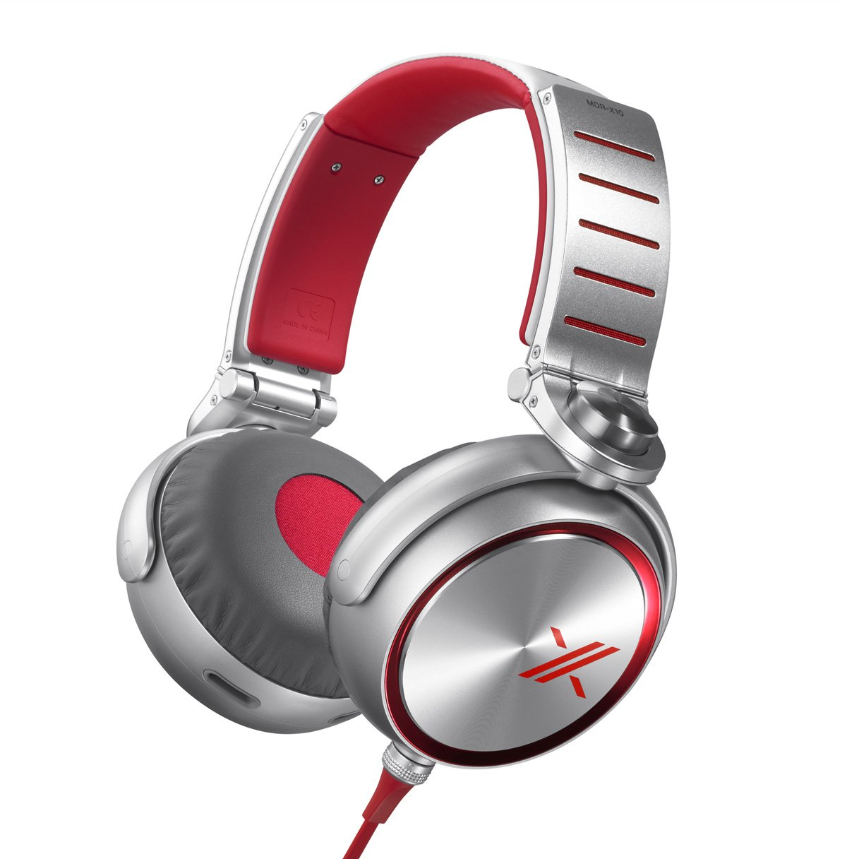 Simon Cowell X Headphones Sony MDR-X10/RED with 50mm Diaphragms $99.00