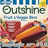 Outshine Fruit and Veggie Bars Variety Pack, 12 ct (frozen)