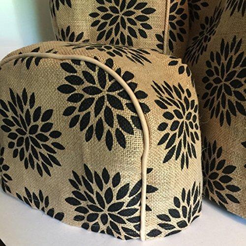 Flower Burst 2 Slice Toaster Cover (11x6.5x7.5