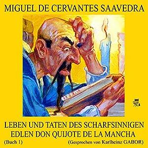Leben und Taten des scharfsinnigen edlen Don Quijote de la Mancha: Buch 1 Hörbuch