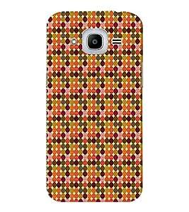 EPICCASE colorful spots Mobile Back Case Cover For Samsung J2 2016 (Designer Case)