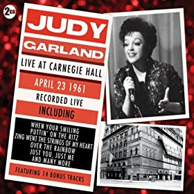 Judy Garland - Live At Carnegie Hall