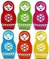 10x Lot of 6 Russian Matryoshka Babushka Nesting Doll Appliques Iron-on Patches New Made of…