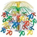 70 Cascade Centerpiece (multi-color) Party Accessory (1 count) (1/Pkg)