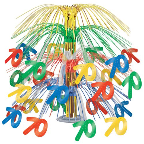 70 Cascade Centerpiece (multi-color) Party Accessory  (1 count) (1/Pkg)