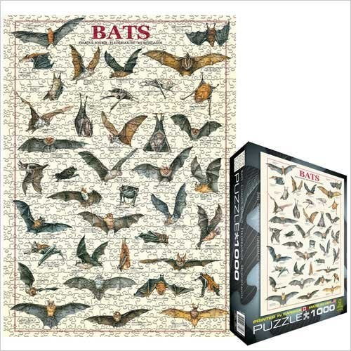 Cheap Eurographics Bats 1000 Piece Jigsaw Puzzle Eurographics (B0039ZCBV4)