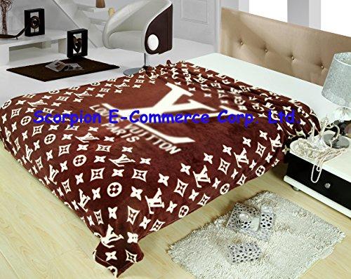 "Find Cheap Scorpion® Soft Cartoon Blanket 150x200cm 60""x80"" (150x200cm, Brown)"