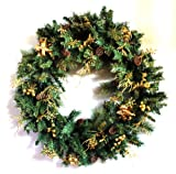 Giant Christmas Wreath with Angels 36
