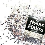 MystickFlakes メタリックシルバー サークル 1mm 0.5g