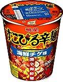 明星 すこびる辛麺 海鮮チゲ味 62g×12個