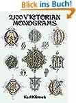 2,100 Victorian Monograms (Dover Pict...