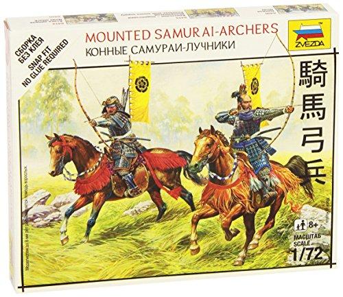 Zvezda Models Mounted Samurai Archers SnapKit - 1