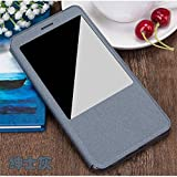 CASECART Smart Window View PU Leather Protective Shell Flip Cover Case For Xiaomi Mi Max 6.44
