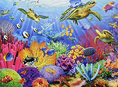 Ravensburger Tropical Waters - Puzzle (500-Piece) by Ravensburger