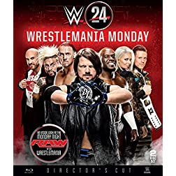 WWE 24: WrestleMania Monday [Blu-ray]