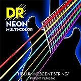 【限定2セットパックx1/ 計2セット】DR NMCE-2/9 [09-42] NEON マルチカラー エレキギター弦