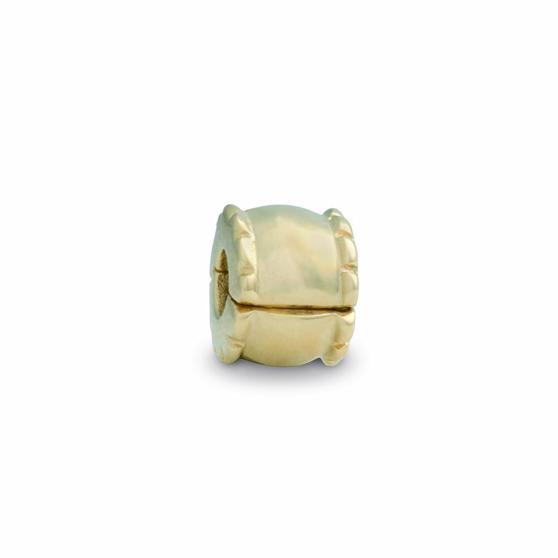 Pandora Damen-Bead  14 Karat (585) Gelbgold Clip KASI 75256 schenken