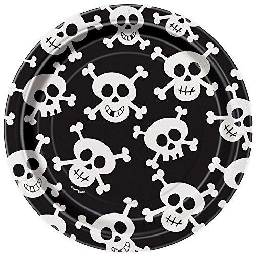 Skulls Dessert Plates, 8ct